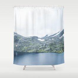 Norway landscape#28 Shower Curtain