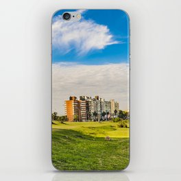 Montevideo Cityscape at Summer Time iPhone Skin