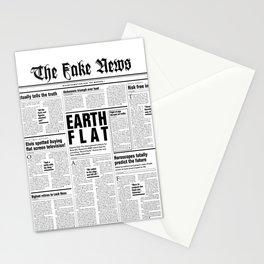 The Fake News Vol. 1, No. 1 Stationery Cards