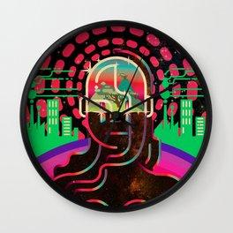 Gaia's Dome Wall Clock