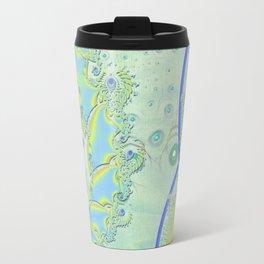 Ghosting 3D Fractal Travel Mug