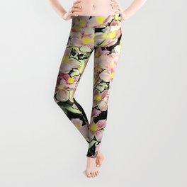 Blumen Leggings