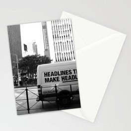 New York Post Truck, Manhattan Stationery Cards