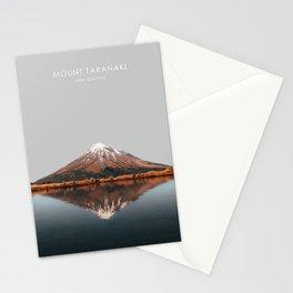 Mount Taranaki, New Zealand Artwork Stationery Cards