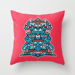 Totem 1 Throw Pillow