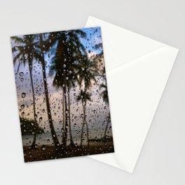 Rainy Vacation Stationery Cards