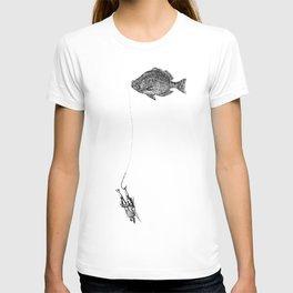 Fish Mnan T-shirt