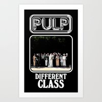 Different Class Art Print