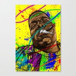 Gun smoke Canvas Print