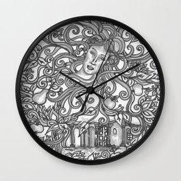 Almaskert Wall Clock