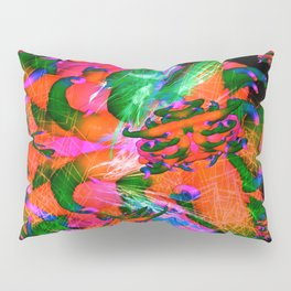 Worm Tumor Colony (Infected) Pillow Sham