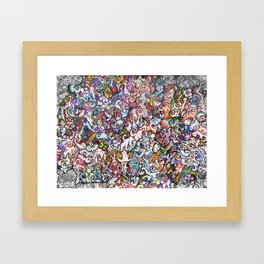 """""""Silliness"""" by RenPenCreations Framed Art Print"""