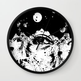Open Spaces Wall Clock