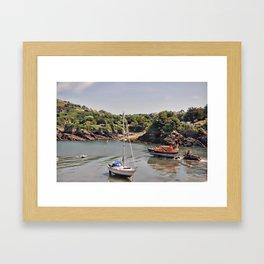 ilfracombe harbour Framed Art Print