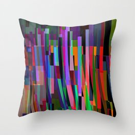 stand up for color Throw Pillow