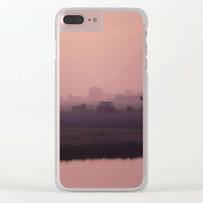 Morning activity #1 Clear iPhone Case