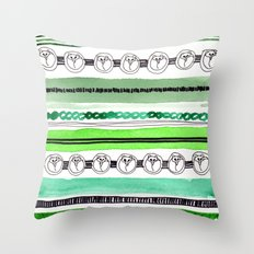 Pattern / Nr. 4 Throw Pillow
