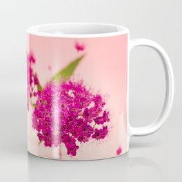Pink Spring Flowers - Meera Mary Thomas Design Coffee Mug