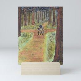 The Watcher at the Crossroads Mini Art Print