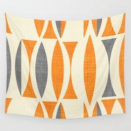 Seventies  orange Wall Tapestry