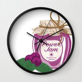 Power Jam Wall Clock