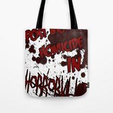 HorrorVille 13 B-movie flyer. Tote Bag
