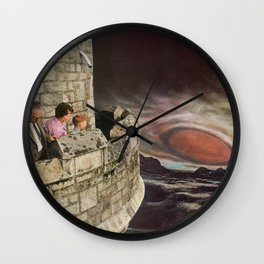 Ganymede Castle Wall Clock