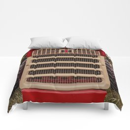 International Grill Farmall Tractor Front  Comforters
