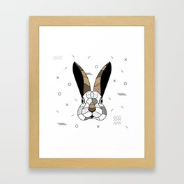 Rabbit Chocolat Framed Art Print