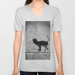 Cat Walk Unisex V-Neck