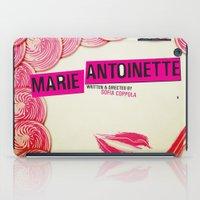 marie antoinette iPad Cases featuring Marie Antoinette by Linda Hordijk
