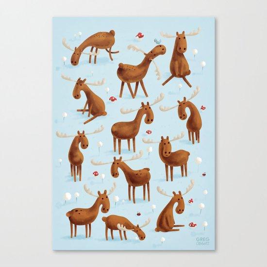 Moose Canvas Print