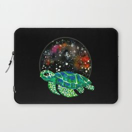Watercolor Sea Turtle Laptop Sleeve