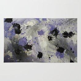Purple Splash Rug