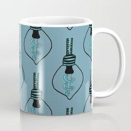 Lightbulb- Blue Gray Coffee Mug