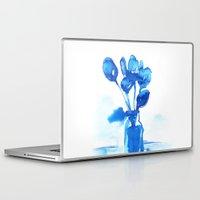 tulips Laptop & iPad Skins featuring Tulips by Zsofi Porkolab