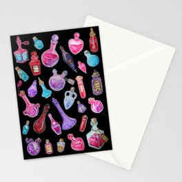 Witchcraft: Witches Potions Stationery Cards