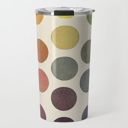 'Parsons' Spectrum Color Chart' 1912, Remake Travel Mug