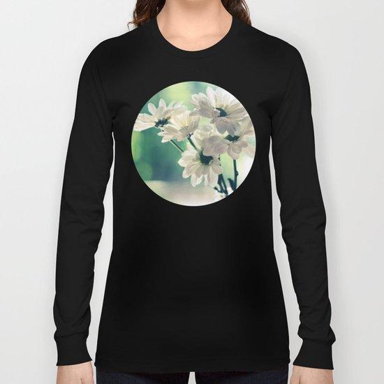 White Daisies - Simplicity Long Sleeve T-shirt