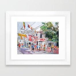 Lobster Pot, Provincetown Framed Art Print