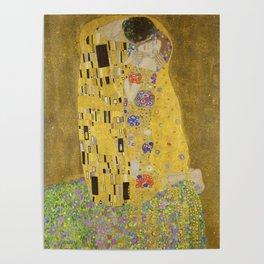 The Kiss by Gustav Klimt Poster