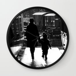 Your carriage awaits Wall Clock