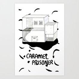 Caramel Prisoner Art Print