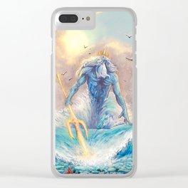 Poseidon Clear iPhone Case