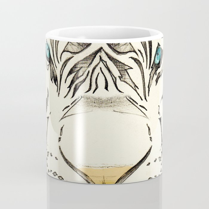 The White Tiger Coffee Mug