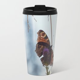 Mountain Butterfly Travel Mug