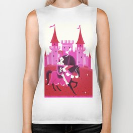Medieval knight and Castle Biker Tank