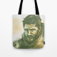 """mad max Tote Bags featuring Mad Max by Barbara """"Yuhime"""" Wyrowińska"""