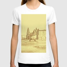 Albert Dock, Liverpool (Digital Art) T-shirt