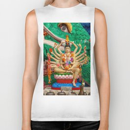 Buddhist Goddess Biker Tank